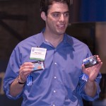 Trade show presenter, Orlando Convention Center, PMA, Olympus